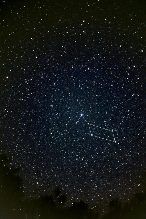Созвездие лира фото